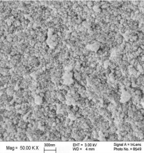 SEM- Bismuth Oxide Nanoparticles