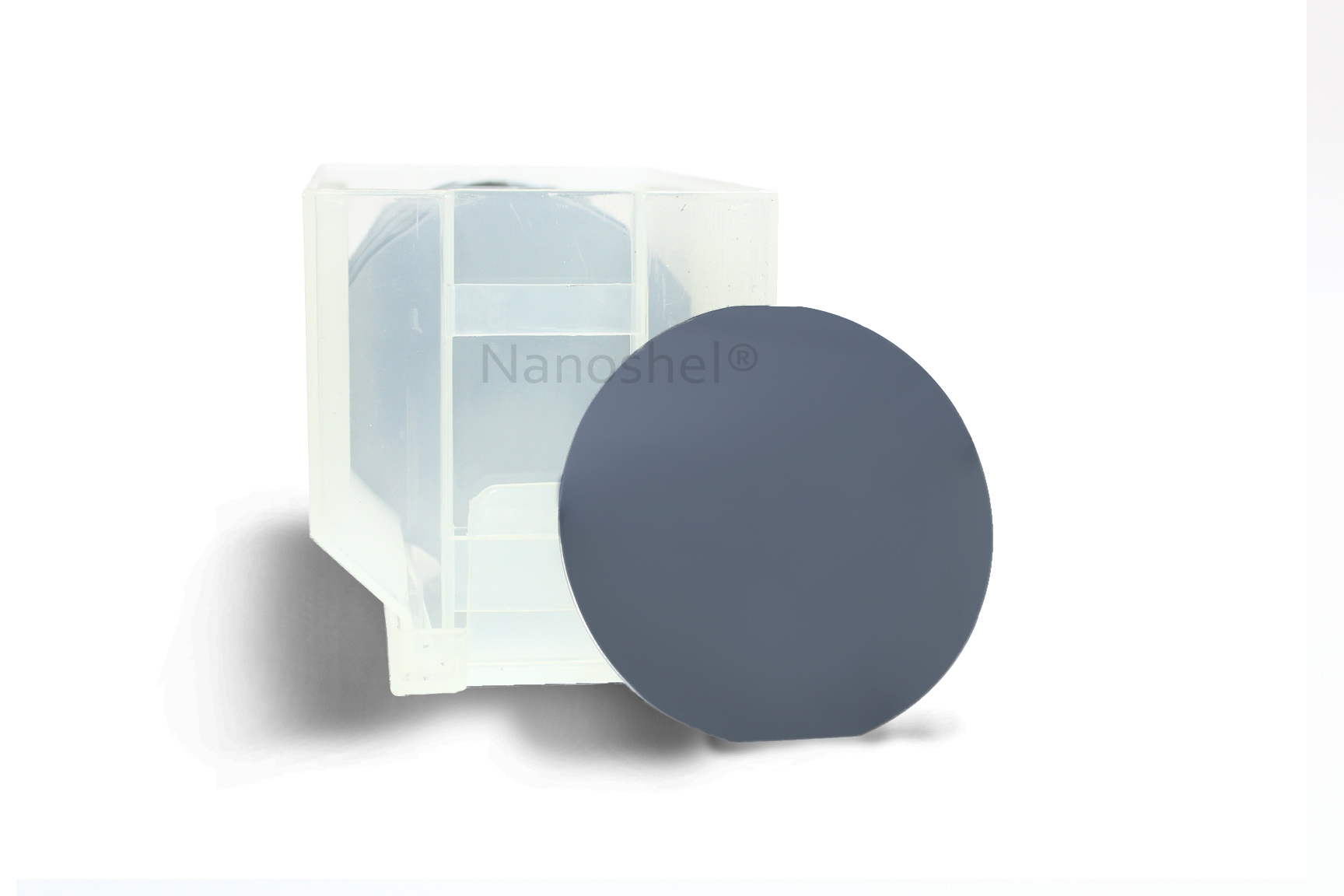 Platinum Coated Silicon Wafer