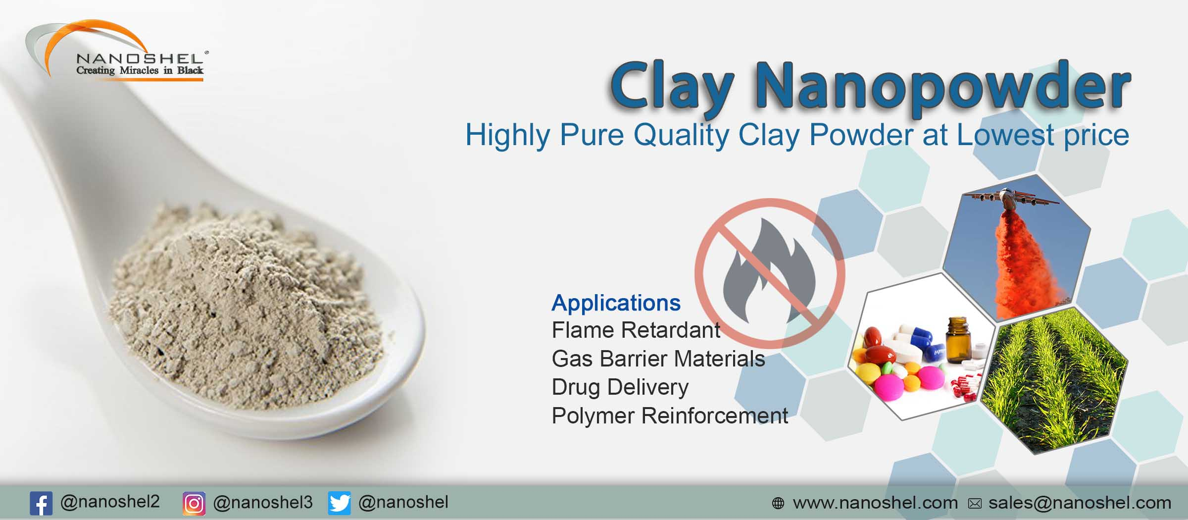 Organically Modified Nanoclay