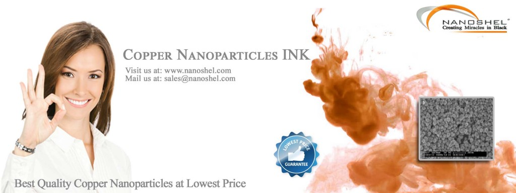 Copper Nanoparticle Applications For Ink