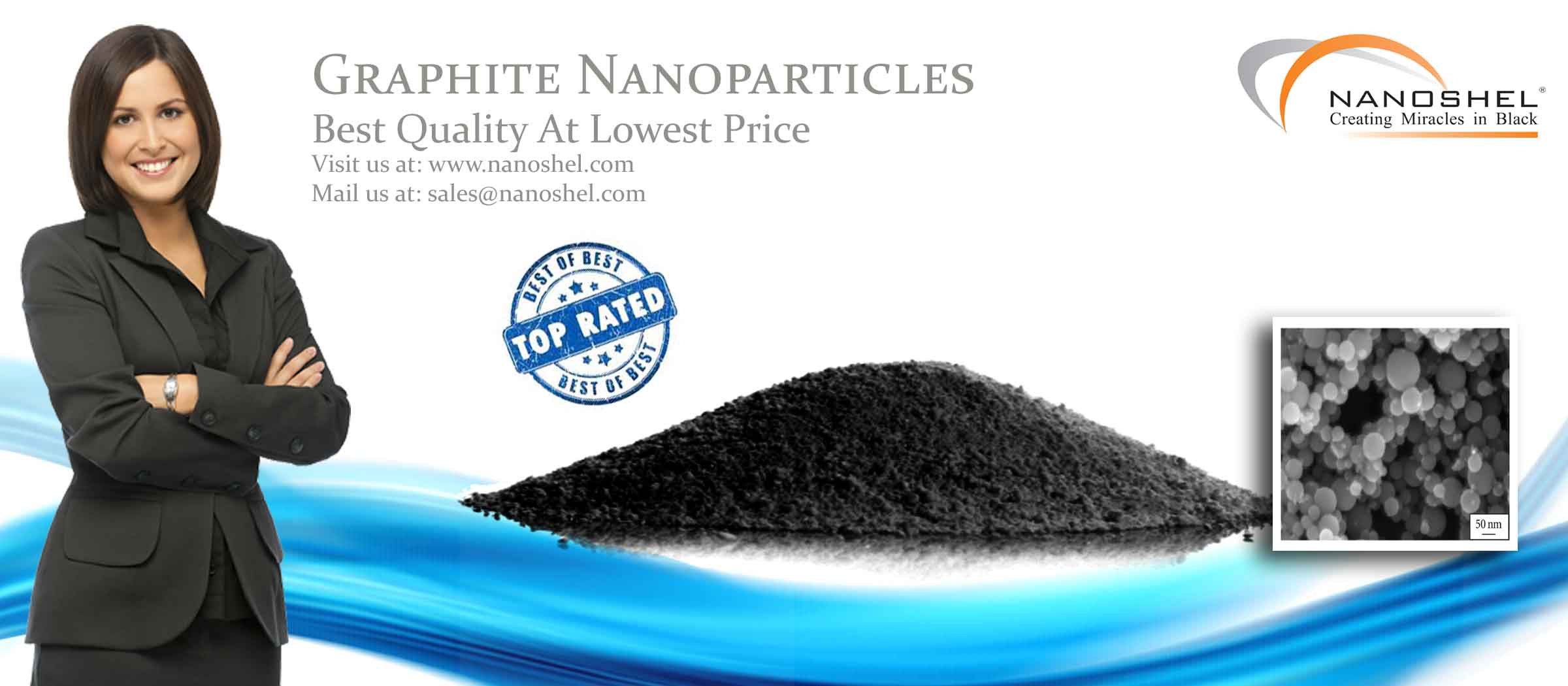 Graphite Nanoparticles and Nanopowder