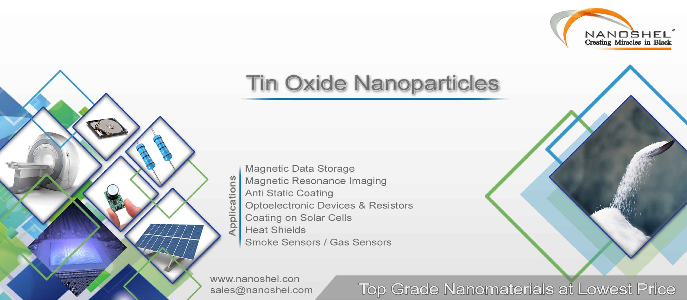 Tin Oxide Dispersions