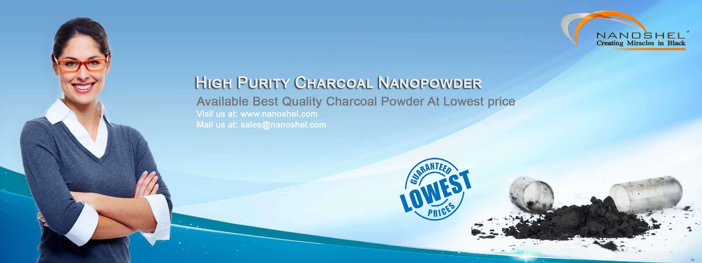Super Activated Charcoal Nanopowder