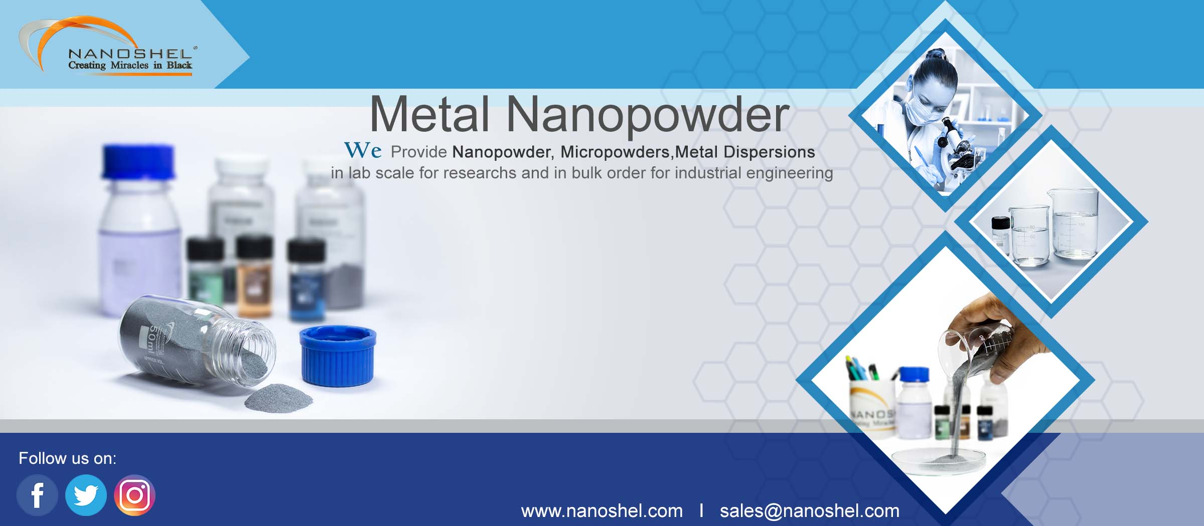 Silver Coated Aluminum Nanopowder