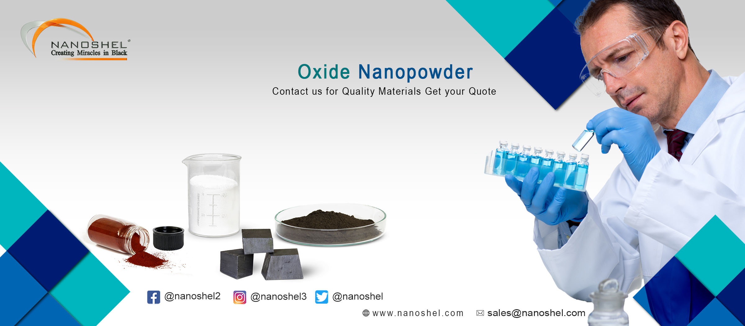Indium Hydroxide Nanopowder