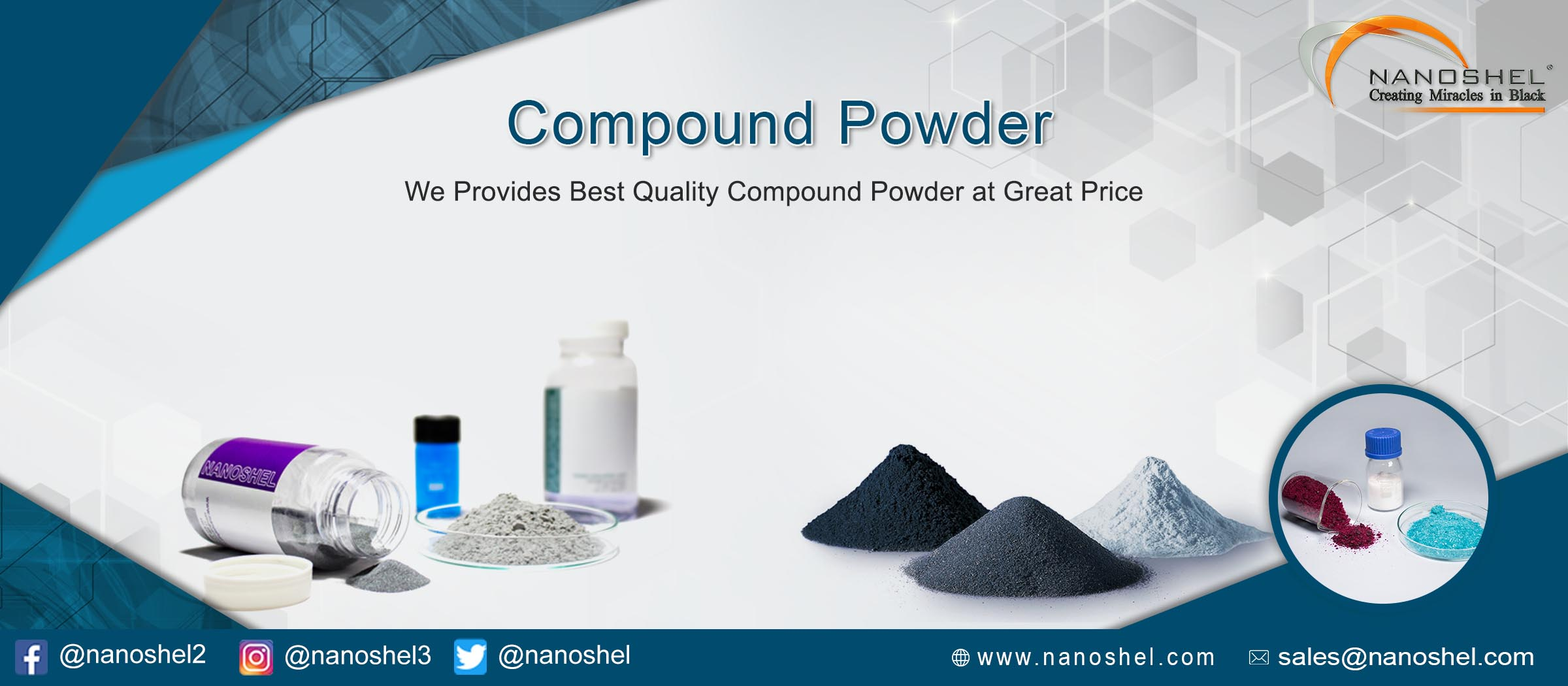 Cadmium Selenide Semiconductor Nanopowder