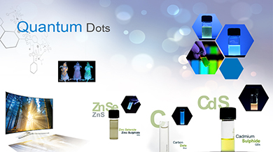 Quantum dots bio sensors LED tv