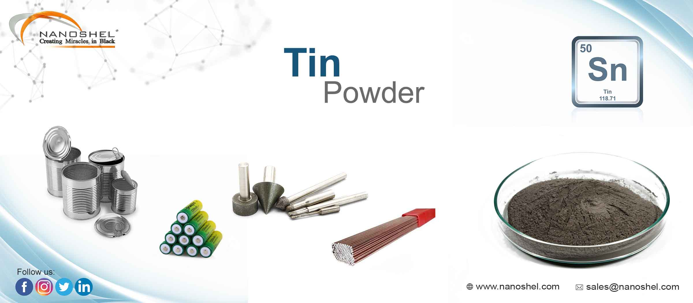 Tin Powder
