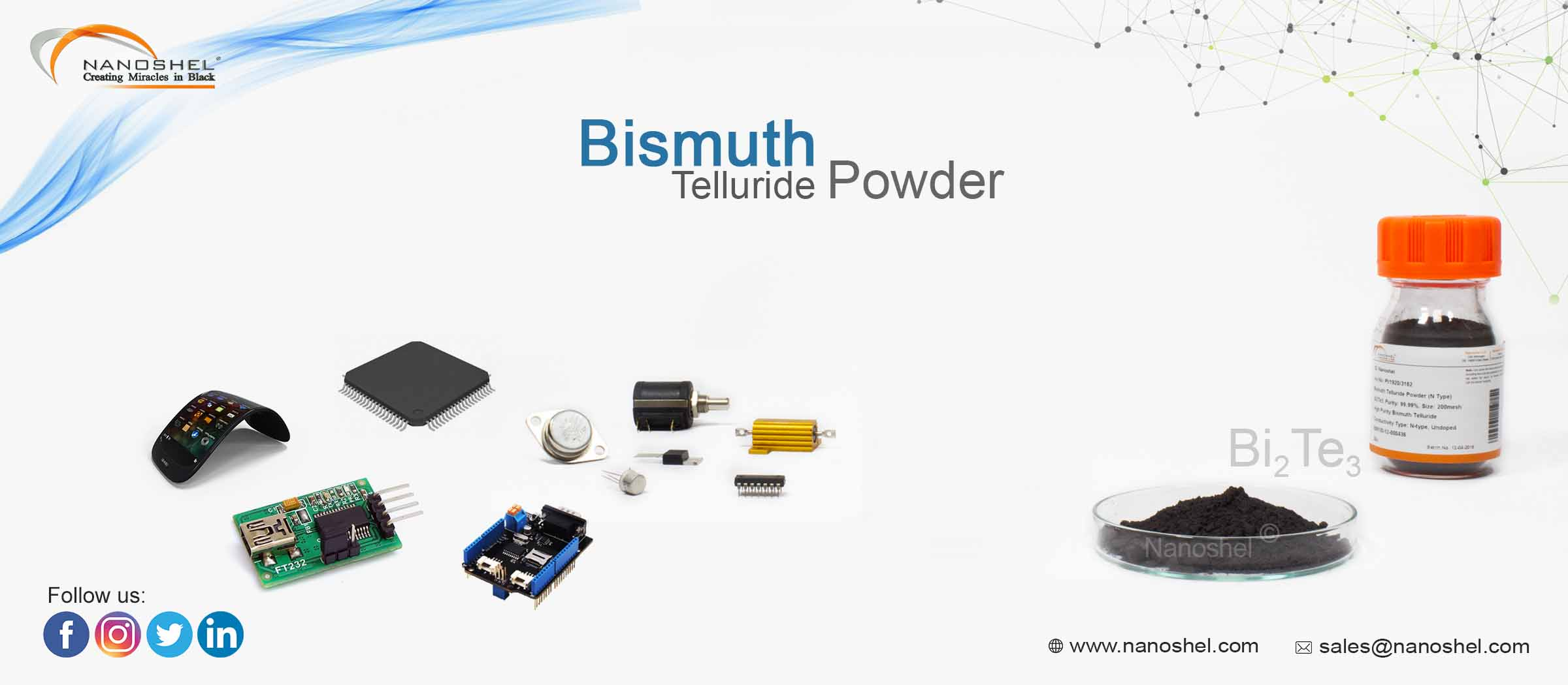 Bismuth Telluride Powder