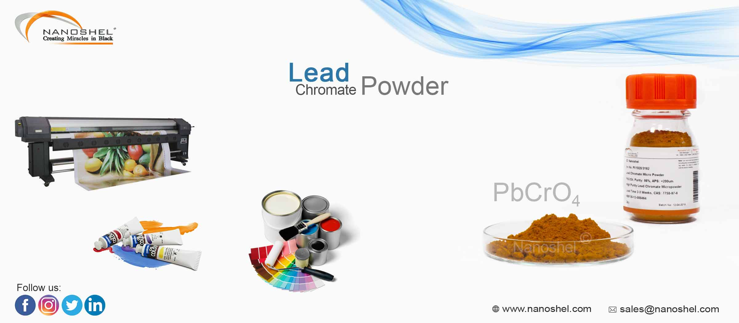 Lead Chromate Powder