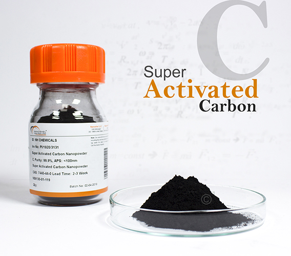 Super Activated Carbon Nanopowder