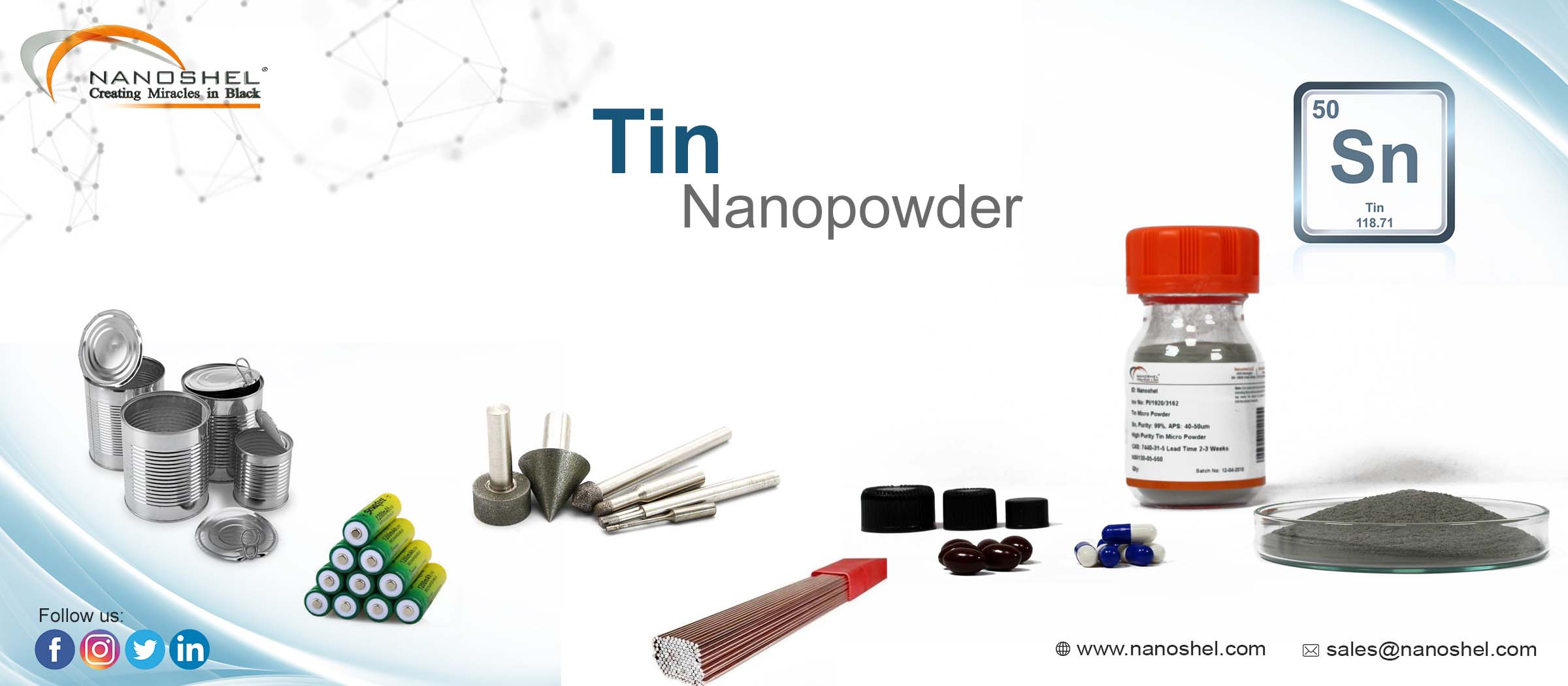 Tin Nanoparticles