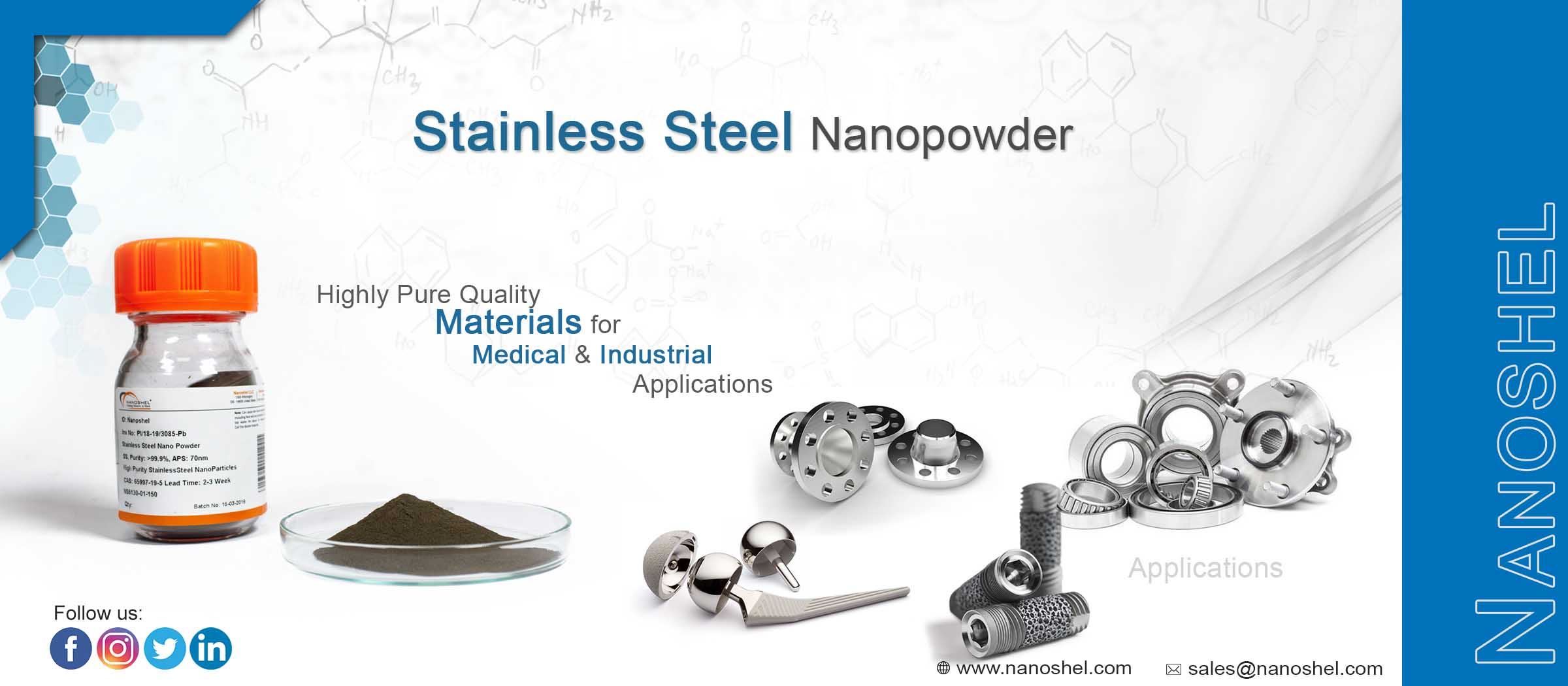 Stainless Steel Nanoparticles