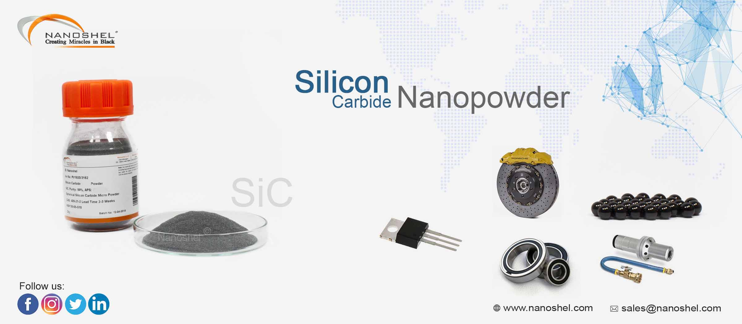 Silicon Carbide Nanoparticles