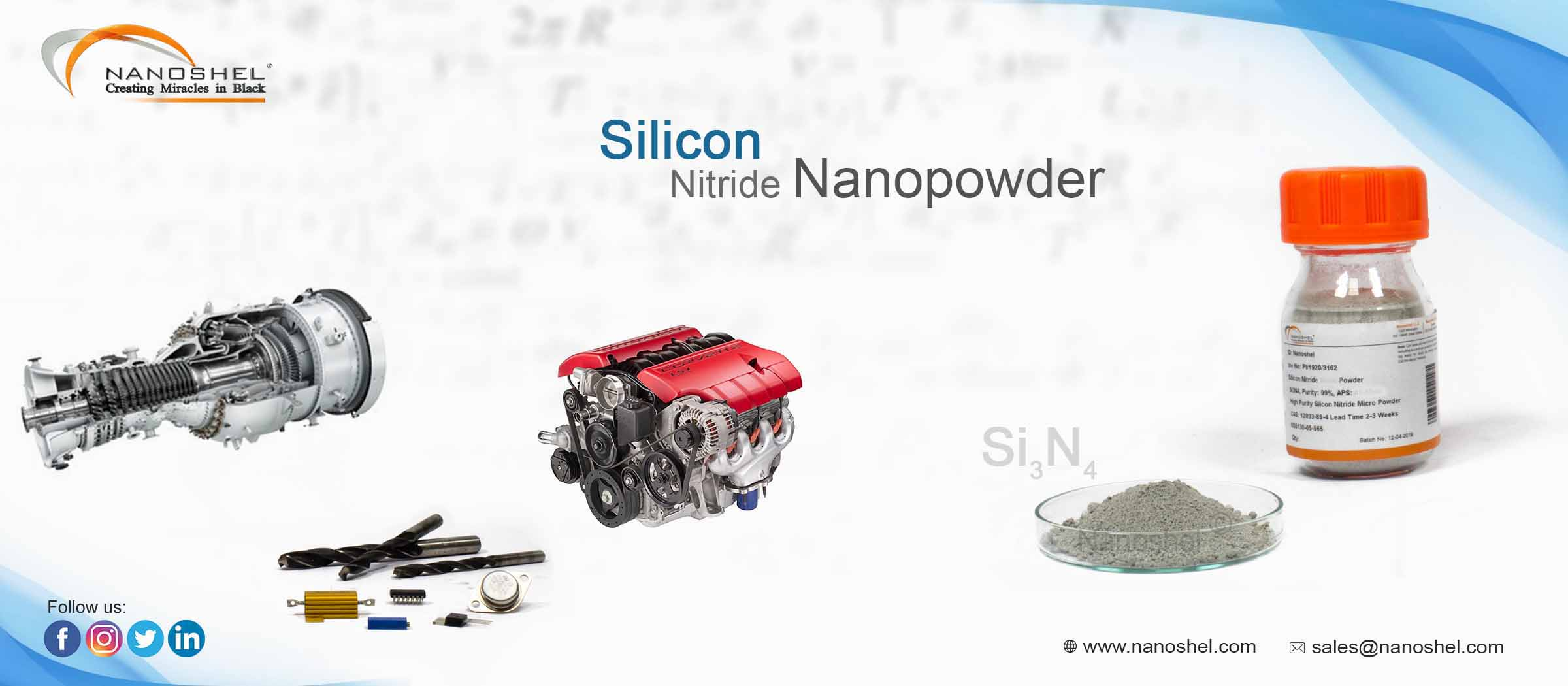 Silicon Nitride Nanoparticles