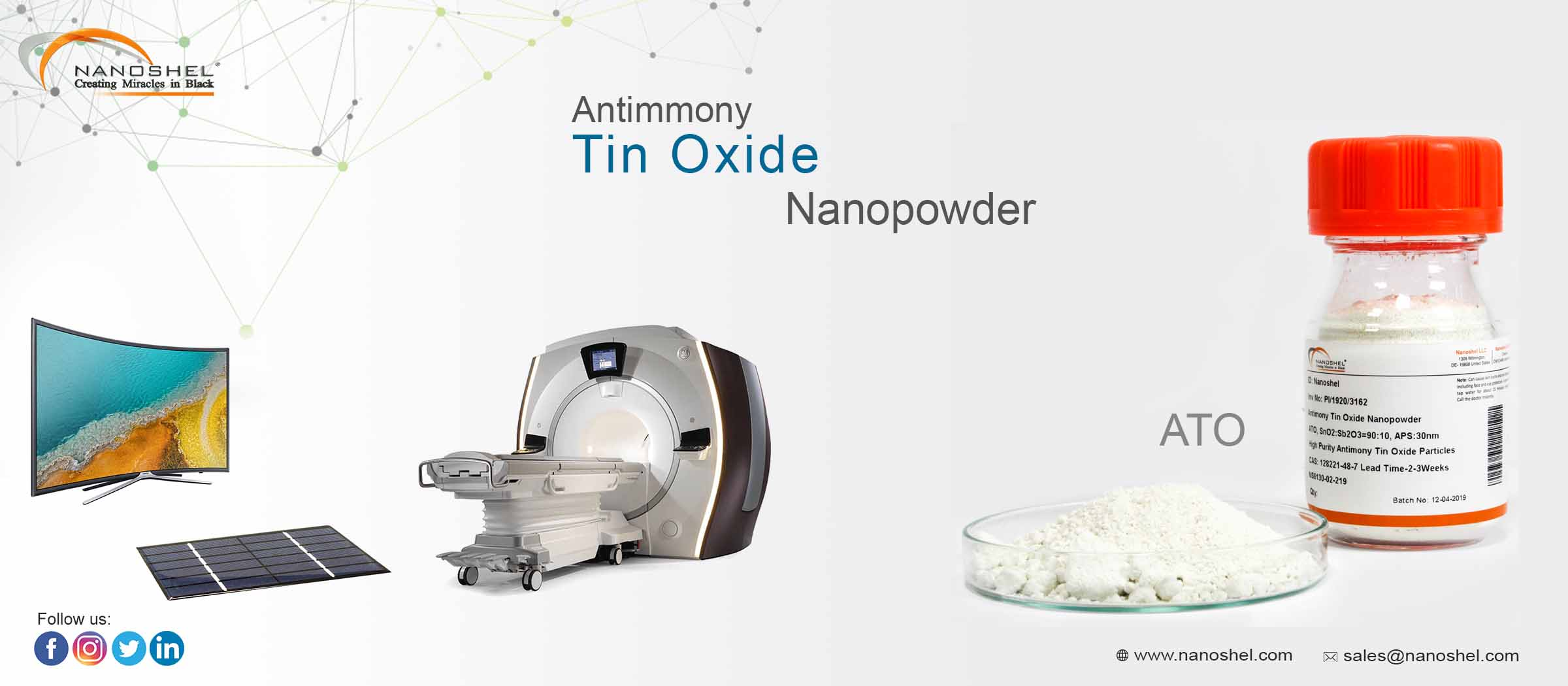 Antimony Tin Oxide Nanoparticles