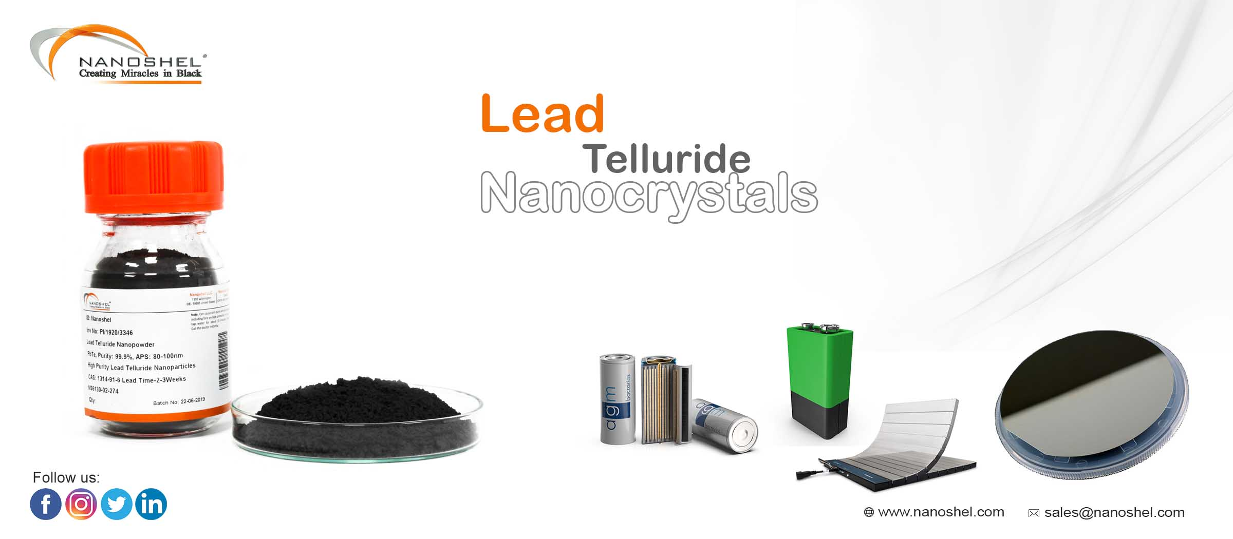 Lead Telluride Nanocrystals