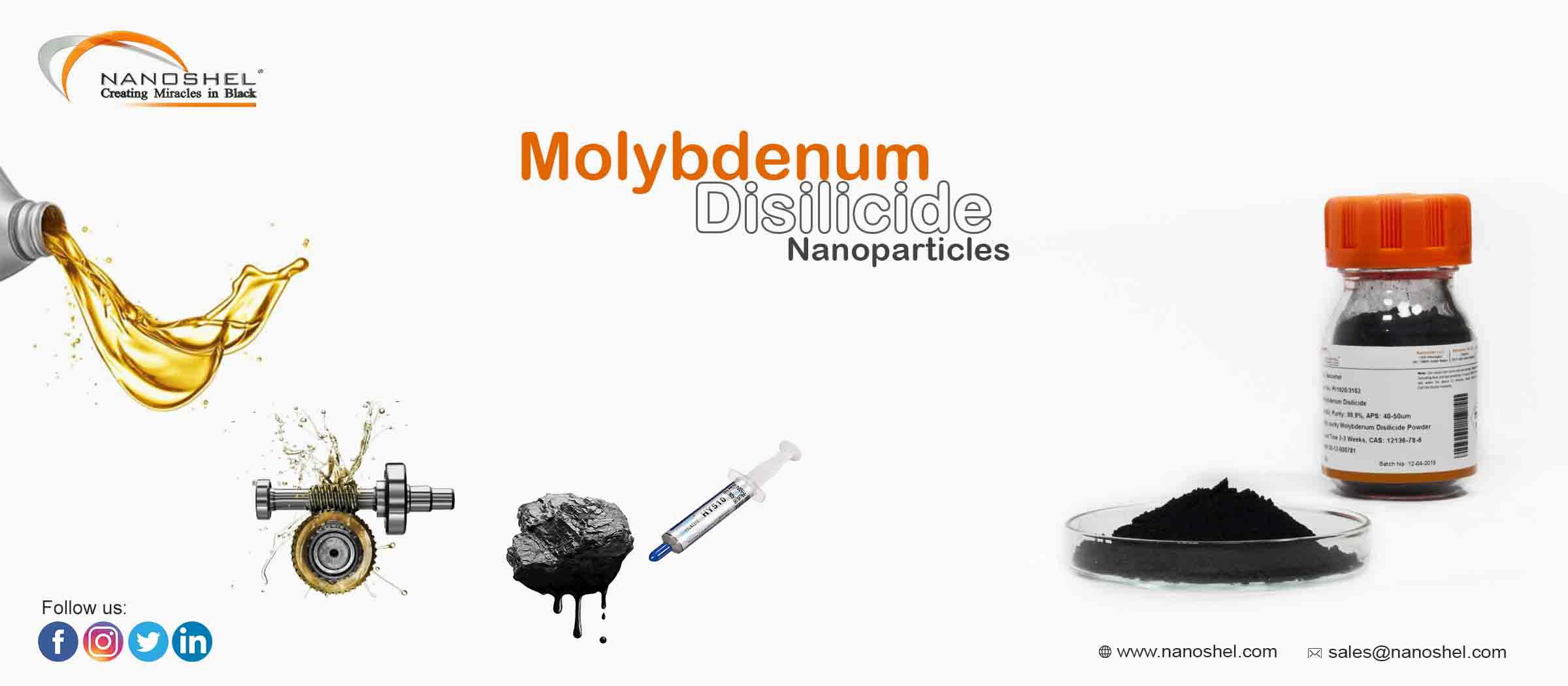 Molybdenum Disilicide Nanoparticles