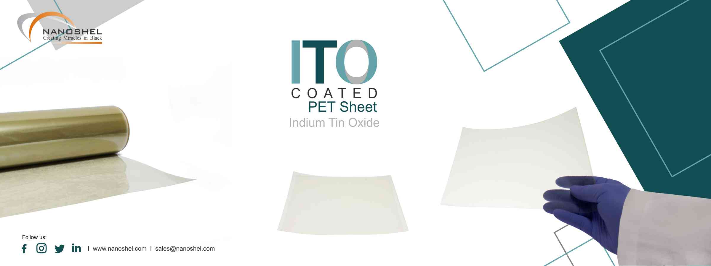 Indium Tin Oxide Coated PET