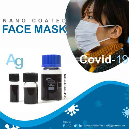 Cost effective nano coating of face masks in the COVID-19 pandemic