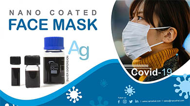 Silver Coated Face Mask (Covid-19)
