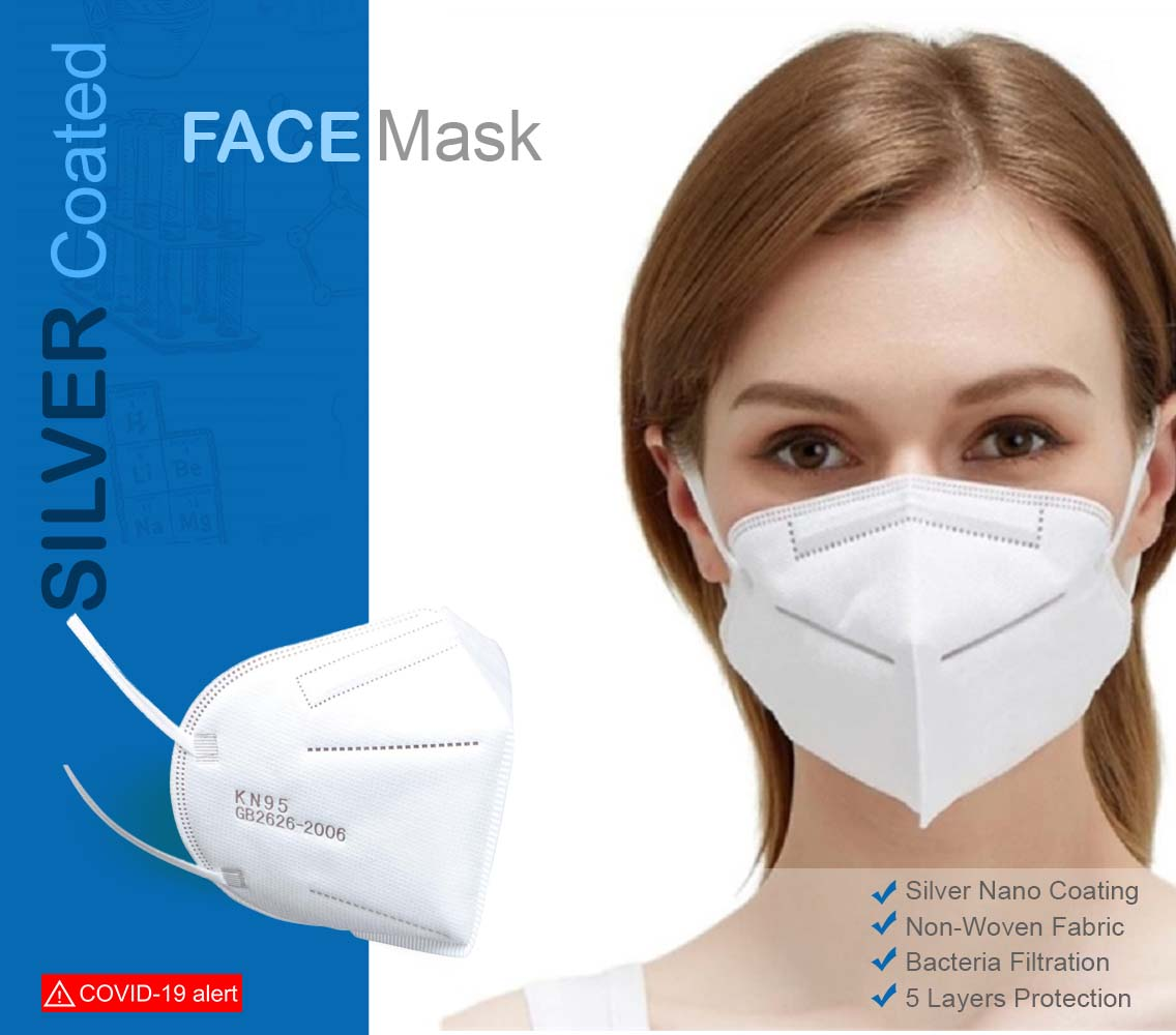 Face Mask (Silver Coated)
