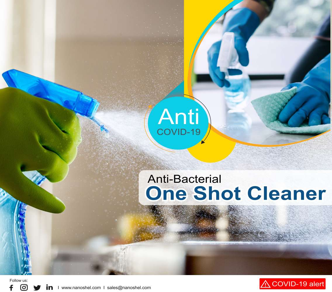Anti-Bacterial One Shot Cleaner (Anti Covid 19)
