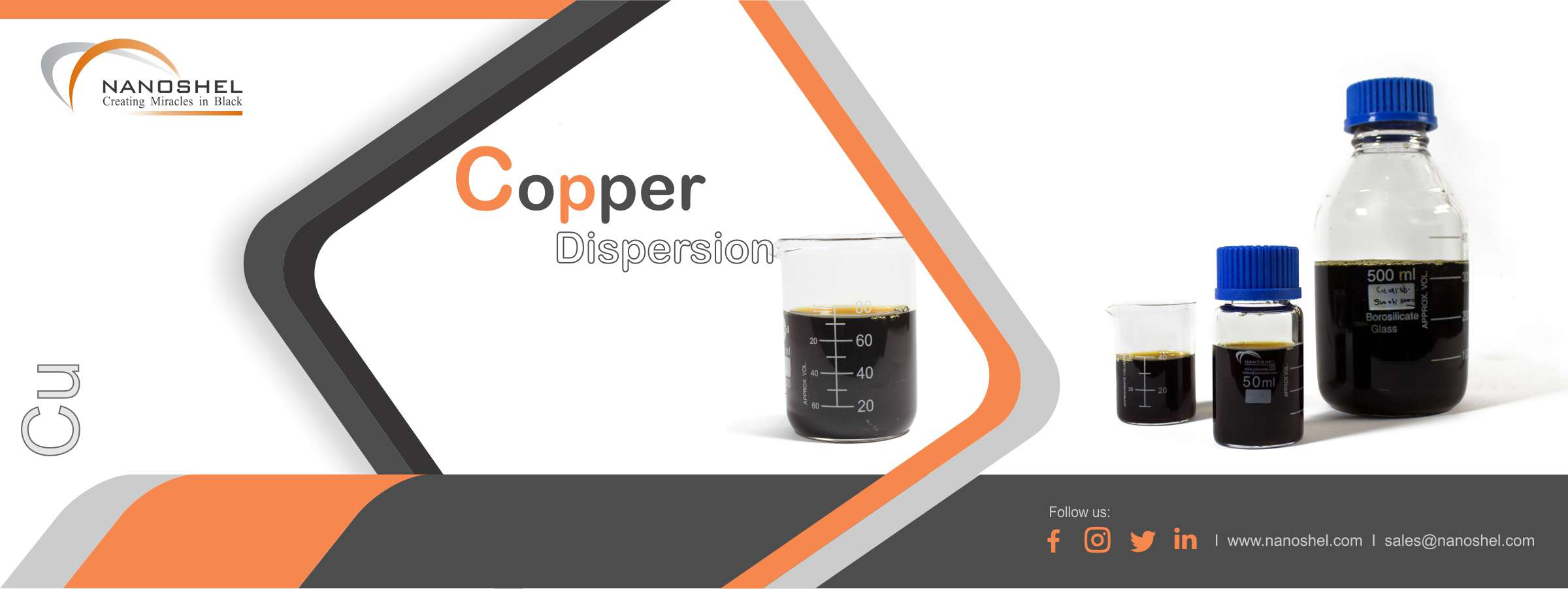 Copper Nanoparticles Dispersion