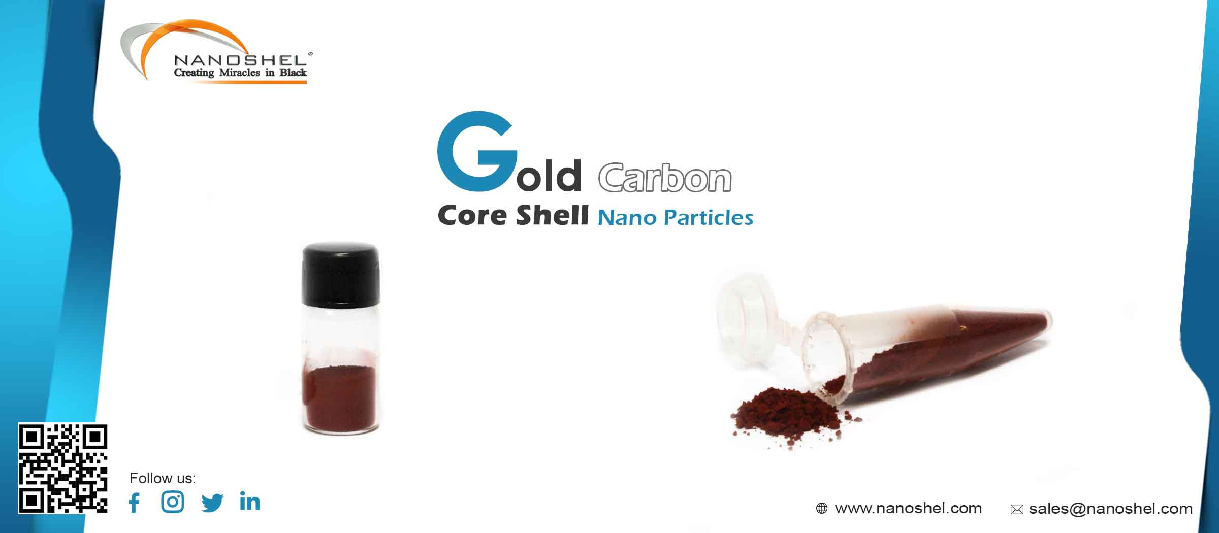 Gold Carbon Core Shell Nanoparticles