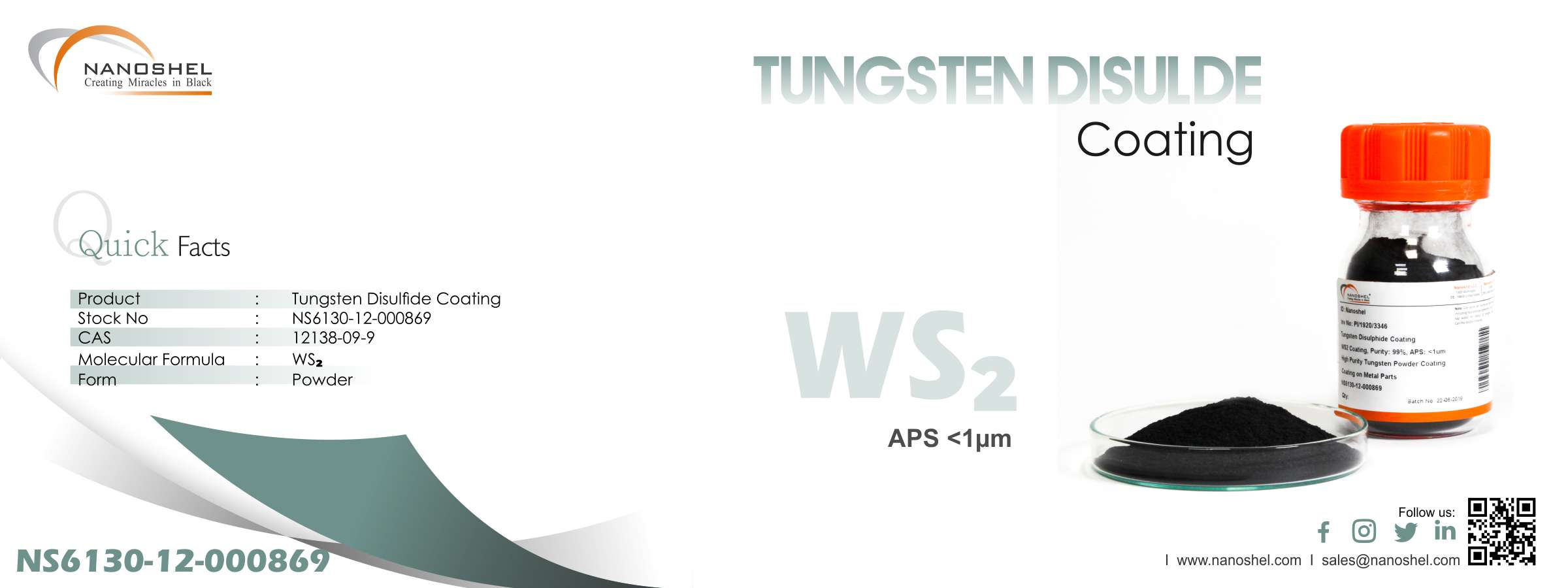 Tungsten Disulfide Coating