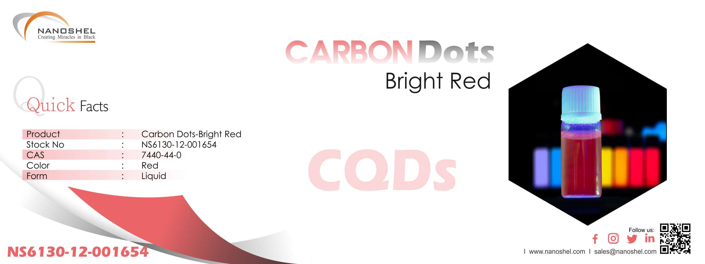 Red Carbon Dots