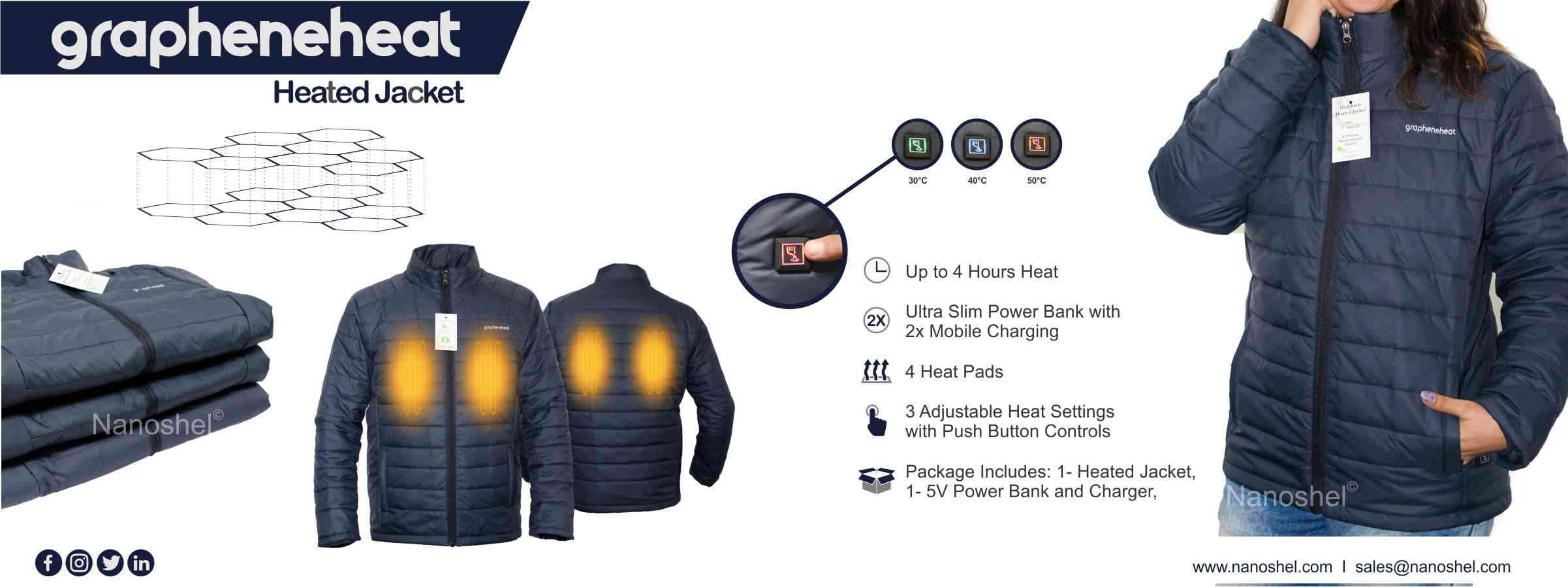 Graphene Heated Jacket