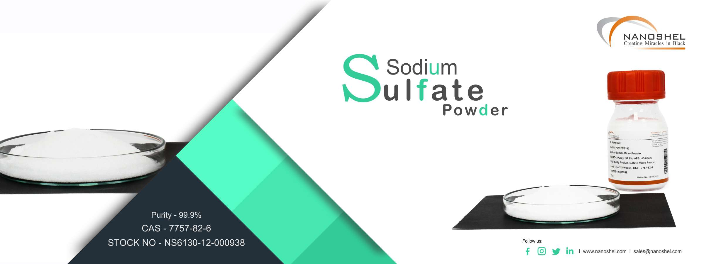 Sodium Sulfate Powder