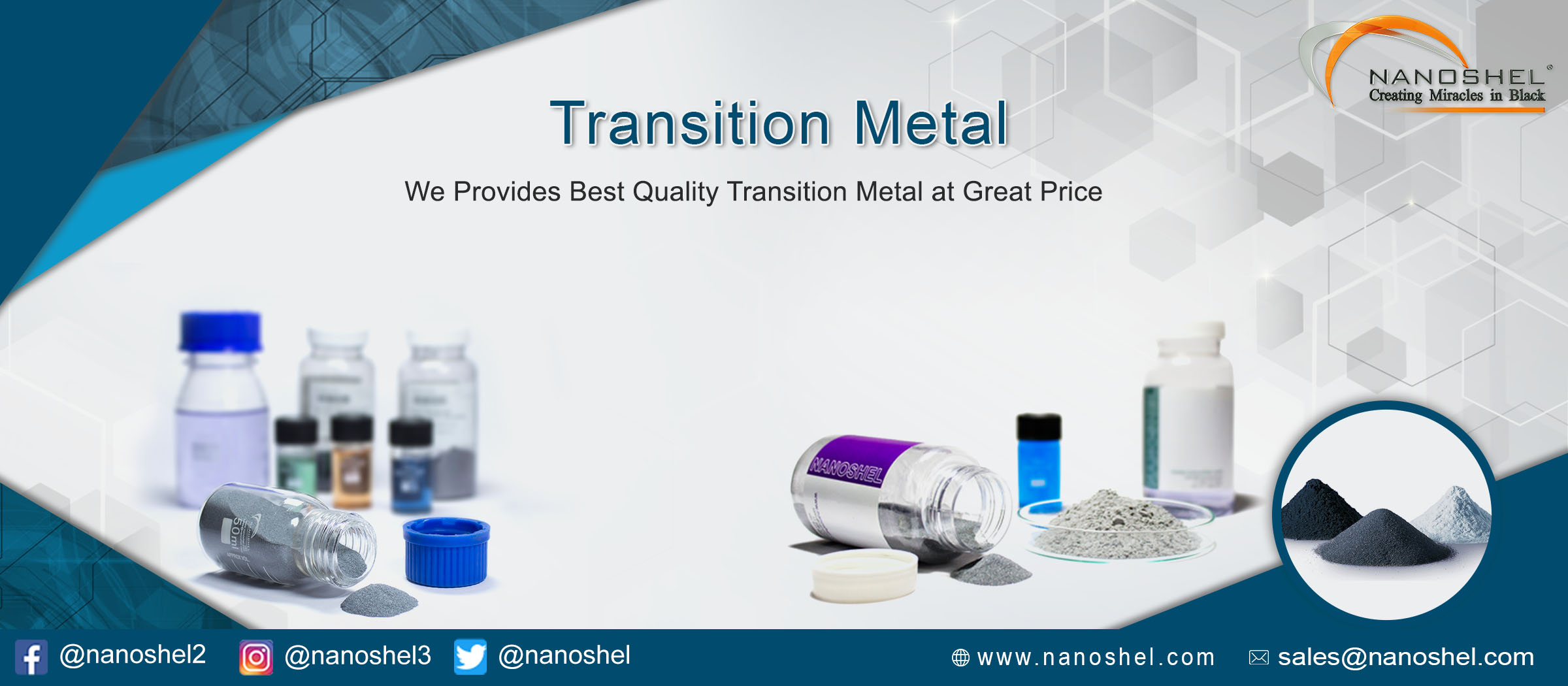 Transition Metal Nanoparticles
