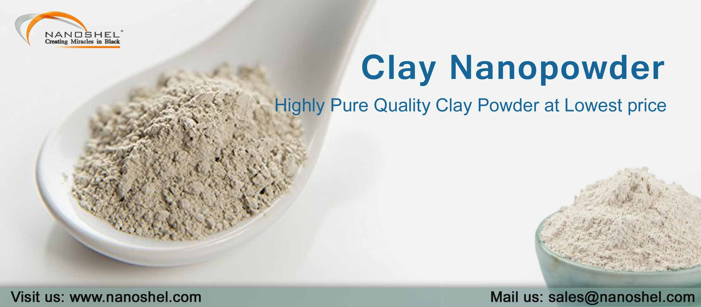 Clay Nanopowder Montmorillonite