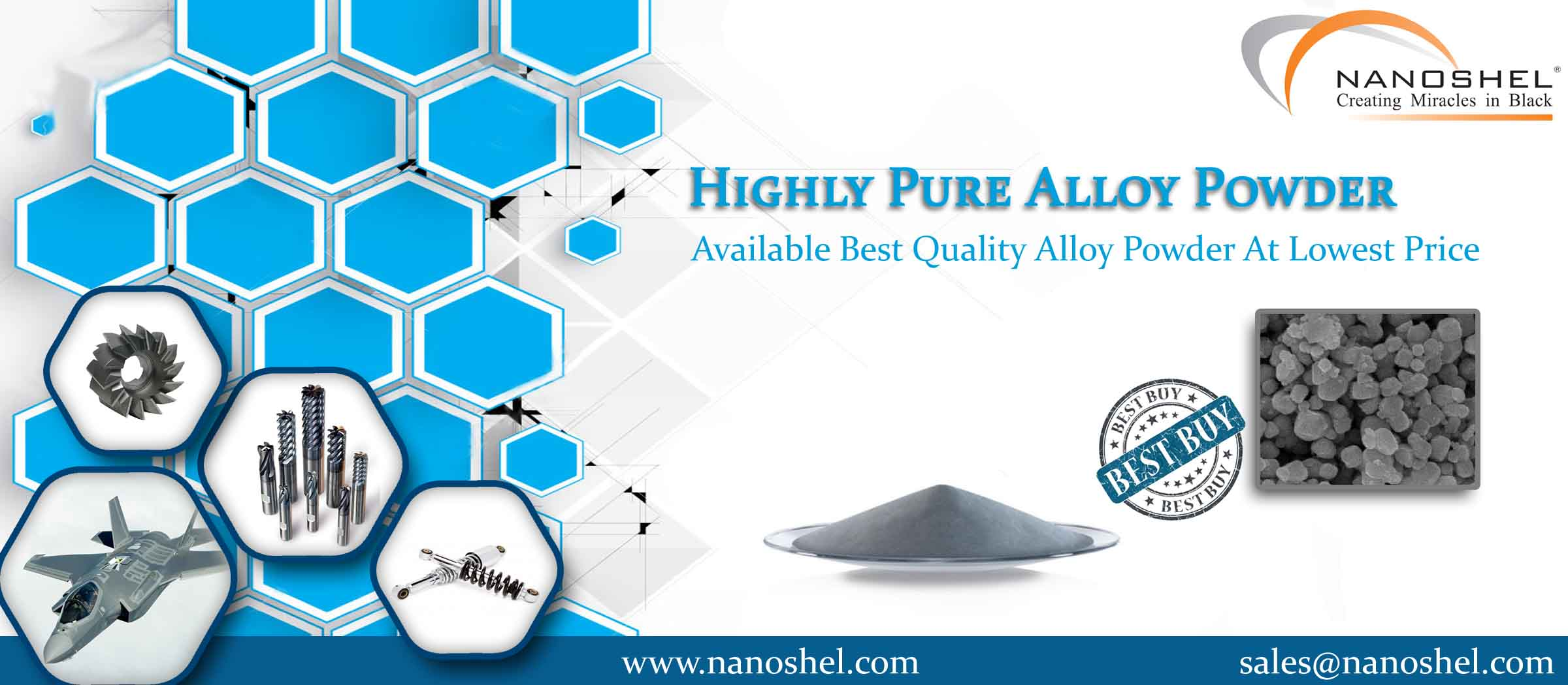 Nickel Chromium Cobalt Alloy Nanopowder