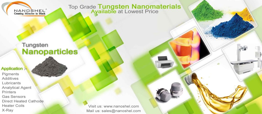 Tungsten Nanoparticles Application