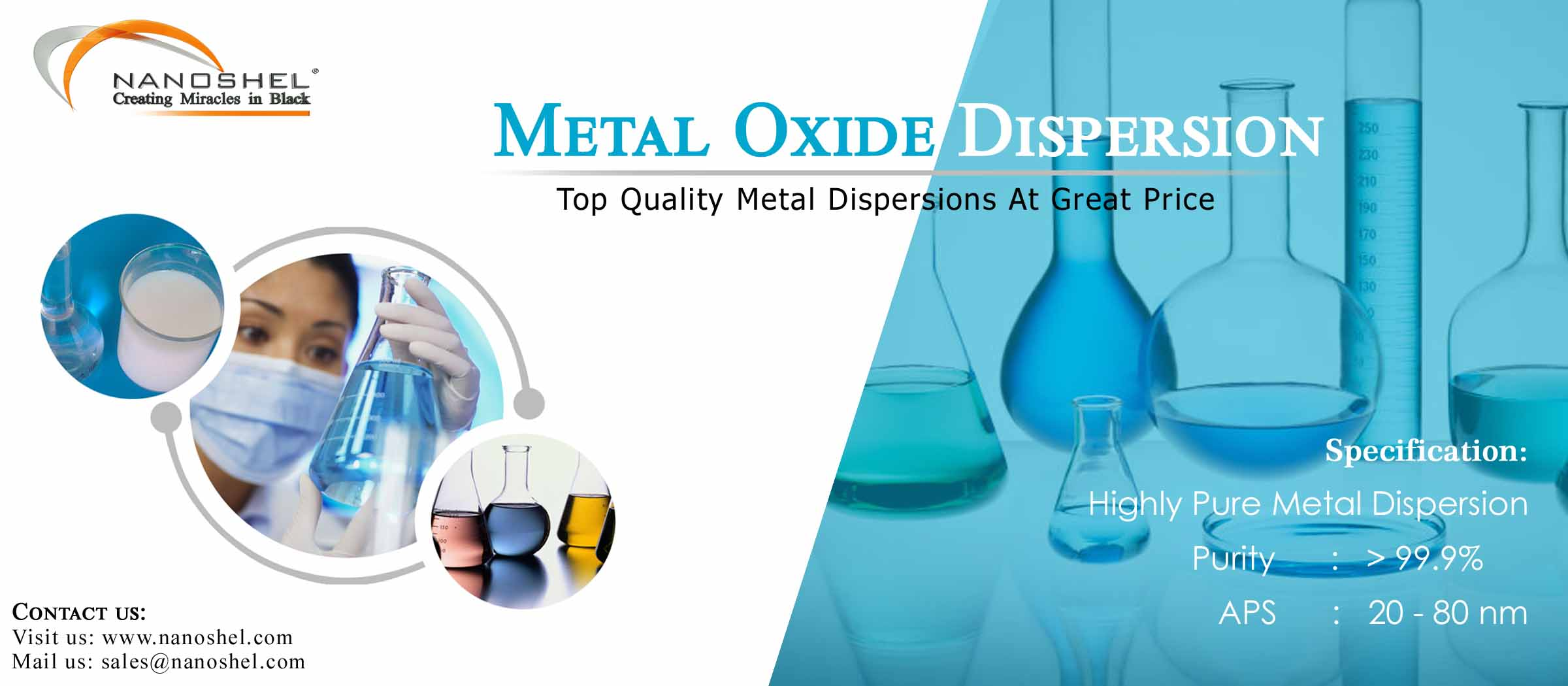 Silicon Dioxide Dispersion Banner