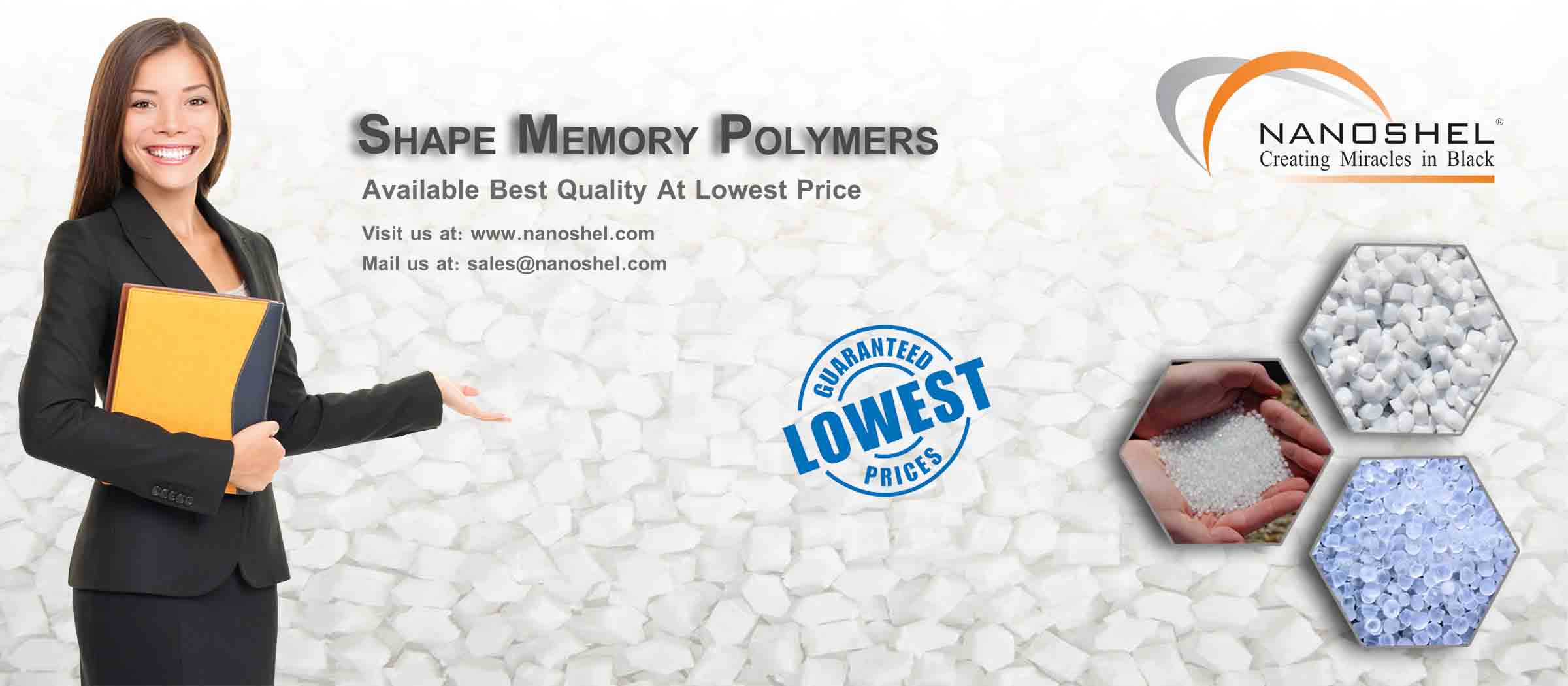 Shape Memory Polymer Pellet Pmm Less Price Fast Delivery