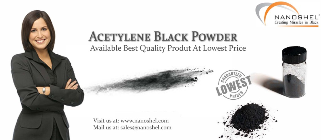 Acetylene Black Powder Banner