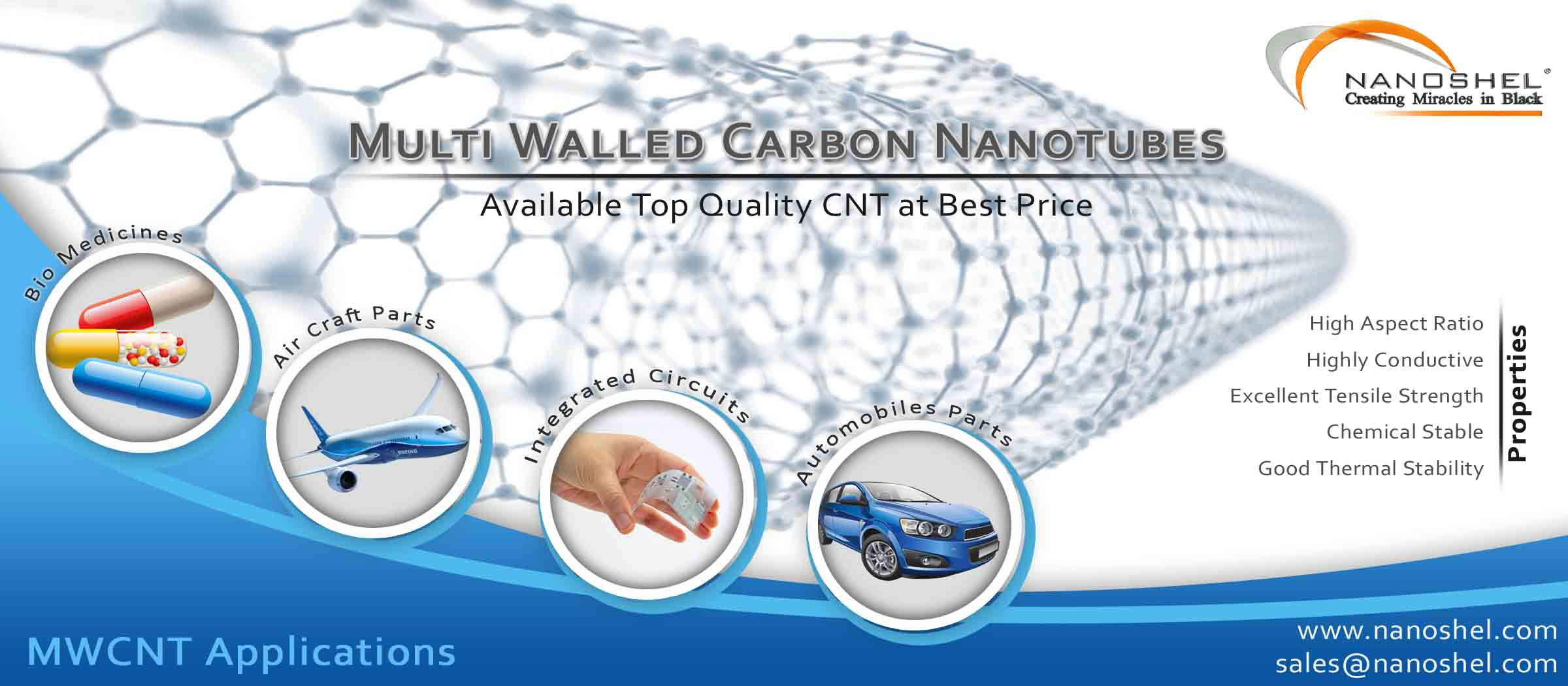 carbon nanotubes What are carbon nanotubes (cnt) and how are they made synthesis, physical properties, and applications are reviewed.